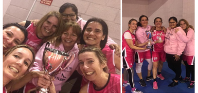 Basket Ladies campeonas de liga