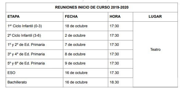 Calendario Escolar 2020 Las Palmas.Horarios Y Calendario Escolar